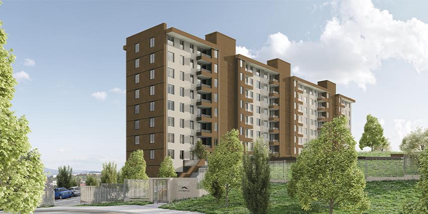Proyecto Edificio Altos del Country de Inmobiliaria Independencia